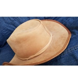 Winfield Leather Cowboy Hat